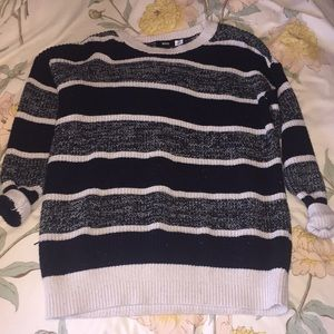 BDG urban outfitters oversized striped sweater s
